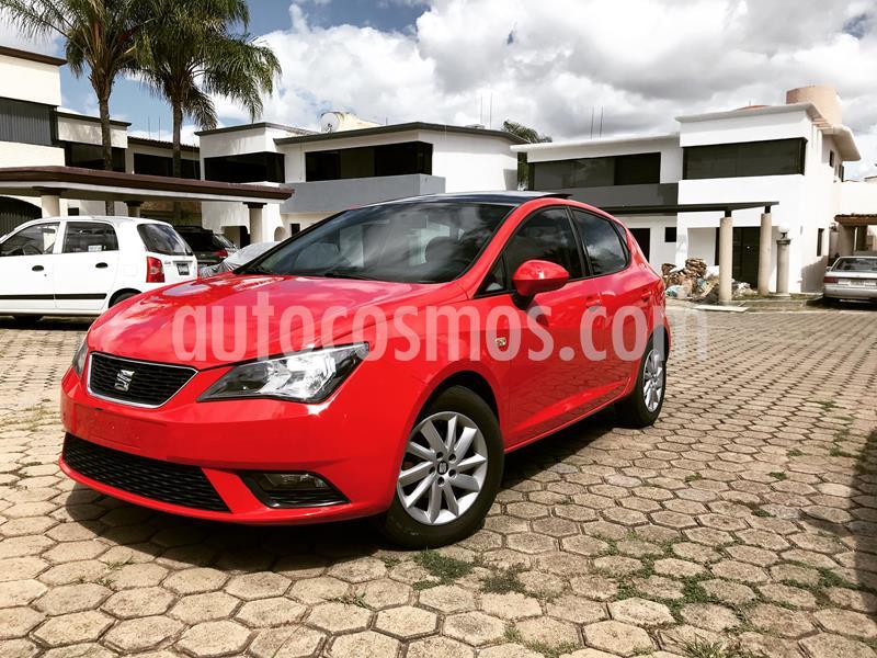 SEAT Ibiza Style Plus 1.2L Turbo 5P   usado (2015) color Rojo precio $152,900