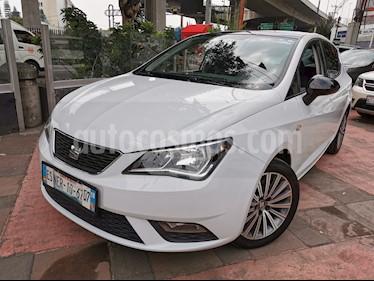 SEAT Ibiza Style 1.6L usado (2017) color Blanco Candy precio $175,000