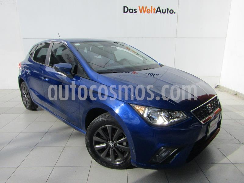 SEAT Ibiza Style 1.6L 5P usado (2018) color Azul precio $195,000