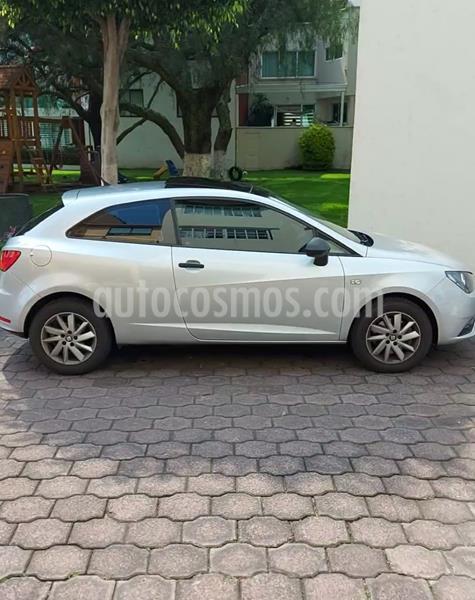 foto SEAT Ibiza Reference 1.6L usado (2017) color Plata precio $170,000