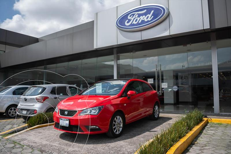 Foto SEAT Ibiza Connect 1.6L 5P usado (2017) color Rojo precio $199,000