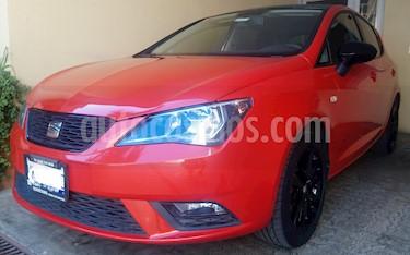 SEAT Ibiza Style 1.6L 5P usado (2016) color Rojo Chili precio $150,000