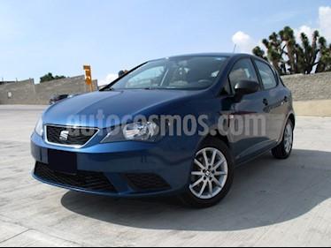 foto SEAT Ibiza Reference 1.6L Tiptronic 5P usado (2015) color Azul Apolo precio $159,000