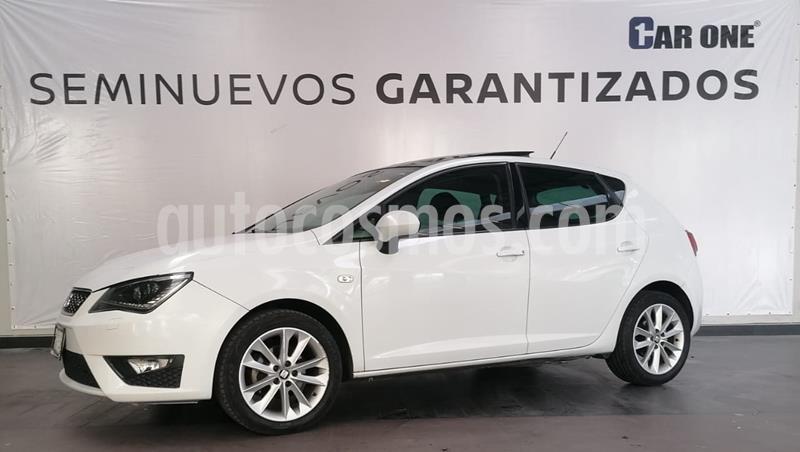 SEAT Ibiza FR DSG 1.2L Turbo 5P usado (2015) color Blanco Nieve precio $184,900