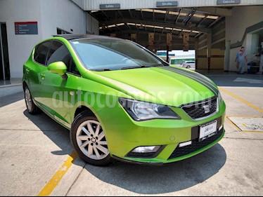 SEAT Ibiza 5p Style L4/1.2/T Man usado (2015) color Verde precio $157,000