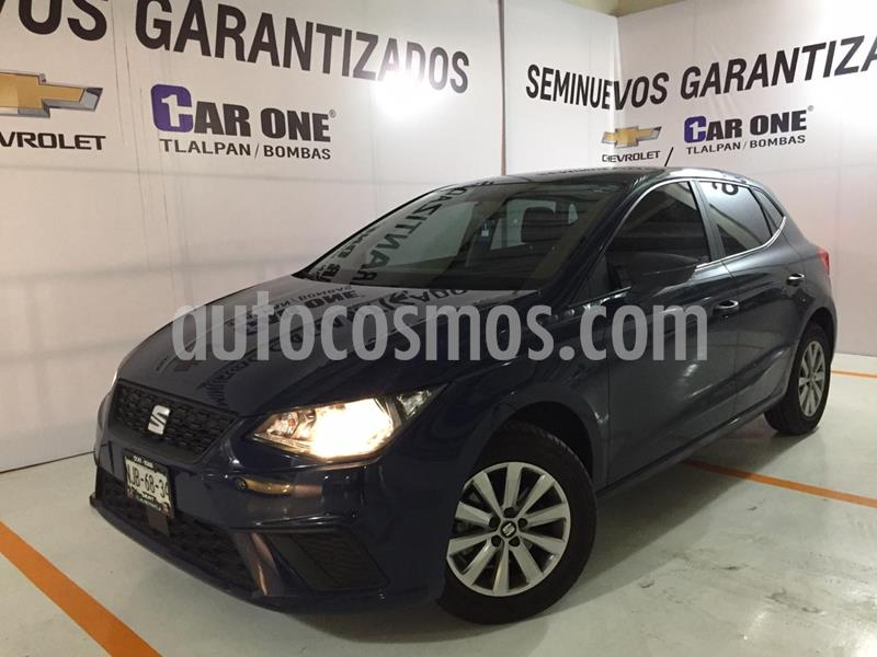 SEAT Ibiza Reference 1.6L Tiptronic 5P usado (2019) color Azul Apolo precio $239,999