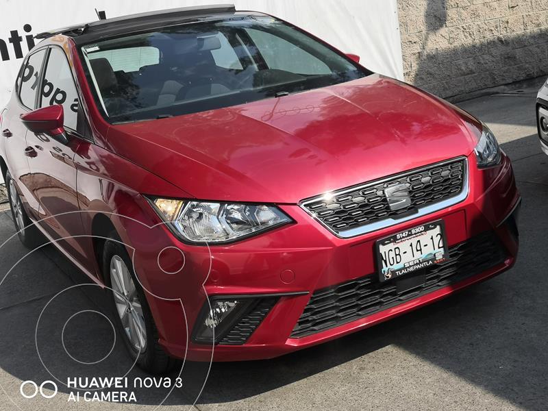 SEAT Ibiza 1.6L Style Tiptronic usado (2018) color Rojo precio $250,000