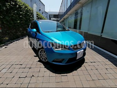 SEAT Ibiza 3P BLITZ 1.6L 110 HP AT A/AC. CD QC F. NIEBLA RA- usado (2016) color Azul precio $175,000