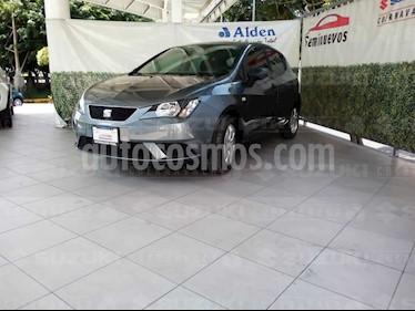 Foto venta Auto usado SEAT Ibiza Reference 1.6L 5P (2017) color Gris Pirineos precio $169,000