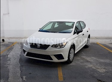 Foto SEAT Ibiza Reference 1.6L usado (2018) color Blanco precio $215,000