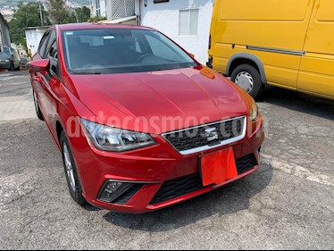 SEAT Ibiza Style 1.6L 5P usado (2018) color Rojo precio $210,000