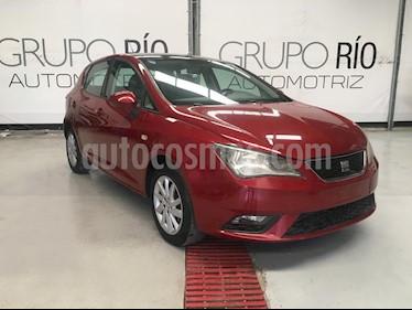Foto SEAT Ibiza Style 1.6L 5P usado (2013) color Rojo Emocion precio $125,000