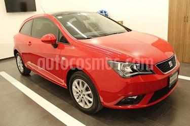 Foto venta Auto usado SEAT Ibiza Style 1.6L 5P (2017) color Rojo precio $215,000