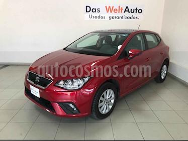 Foto venta Auto usado SEAT Ibiza Style 1.6L DSG 5P  (2018) color Rojo precio $259,683