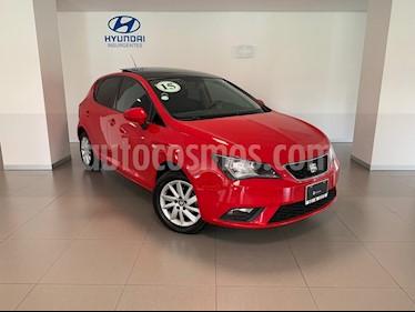 Foto venta Auto usado SEAT Ibiza Style 1.6L DSG 5P (2015) color Rojo Emocion precio $164,000