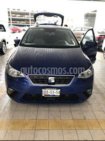SEAT Ibiza Style 1.6L usado (2018) color Azul Mistico precio $212,000