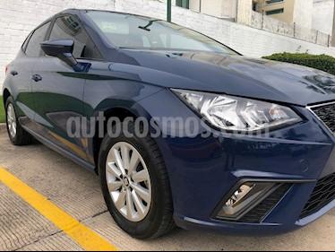 Foto SEAT Ibiza Style Urban Techo P. 1.6L usado (2018) color Azul Mediterraneo precio $195,000
