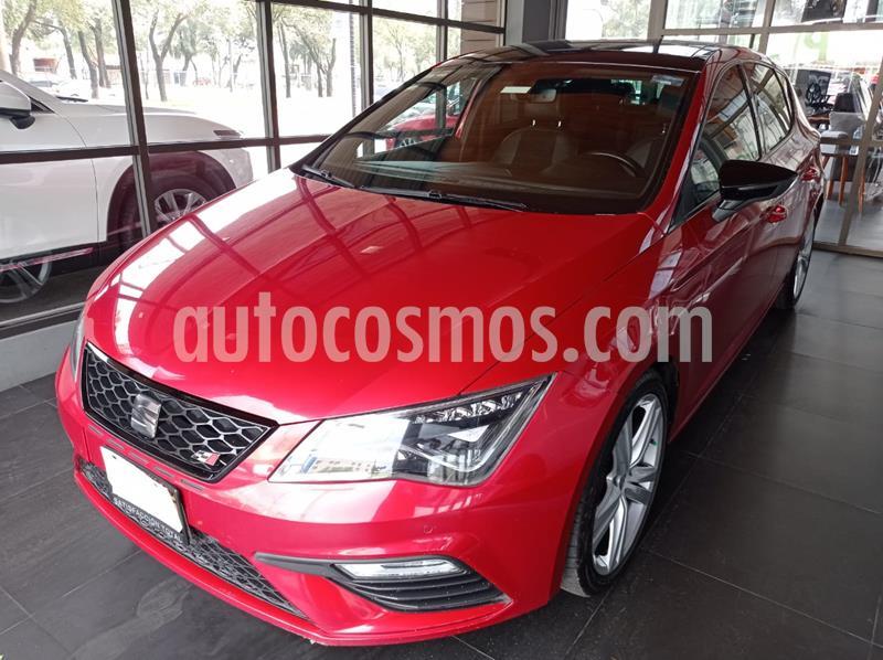 SEAT Leon Cupra 2.0L T 5 Puertas usado (2018) color Rojo precio $380,000