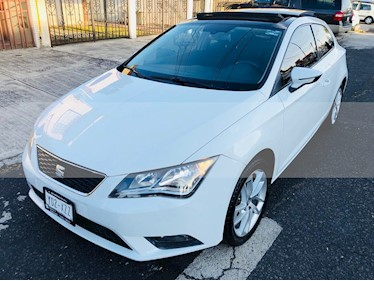 Foto SEAT Leon ST 1.4L Aut usado (2016) color Blanco precio $190,000