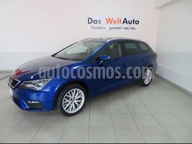 foto SEAT León ST 1.4L Aut usado (2018) color Azul precio $334,820