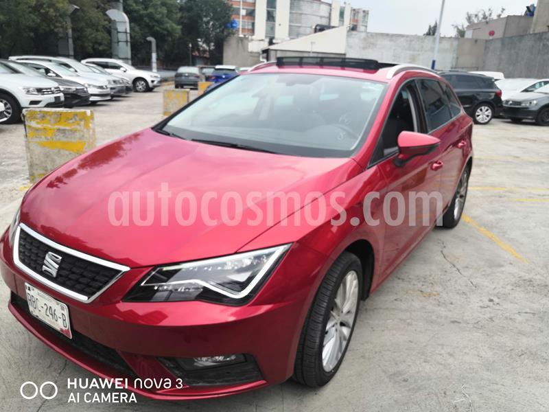 SEAT Leon ST 1.4L Aut usado (2018) color Rojo precio $270,000