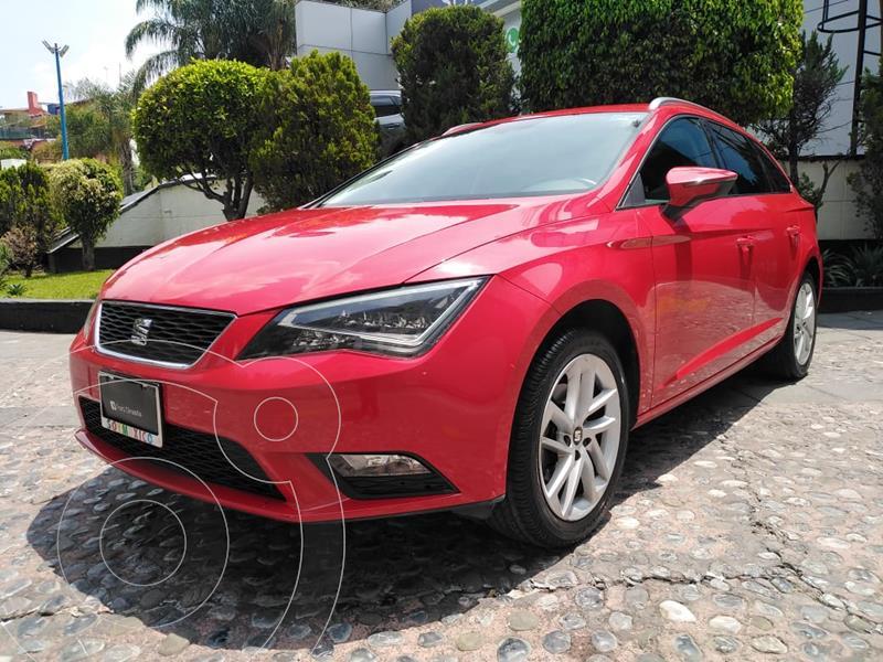 Foto SEAT Leon ST 1.4L Aut usado (2016) color Rojo precio $249,000