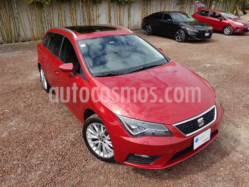 SEAT Leon ST 1.4L Aut usado (2018) color Rojo precio $280,000