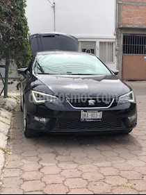 Foto venta Auto usado SEAT Leon FR 1.4T 140 HP DSG  Pint. Cust (2015) color Negro Universal precio $250,000