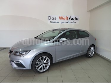 Foto venta Auto usado SEAT Leon FR 1.4T 140 HP DSG (2018) color Plata precio $349,995