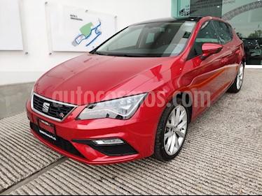Foto venta Auto usado SEAT Leon FR 1.4T 140 HP DSG (2018) color Rojo Emocion precio $335,000