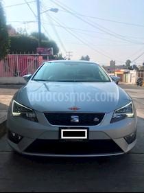 SEAT Leon FR 1.4T 140 HP usado (2014) color Plata precio $239,000