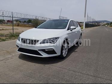 SEAT Leon FR 1.4T 150 HP usado (2018) color Blanco Nieve precio $325,000