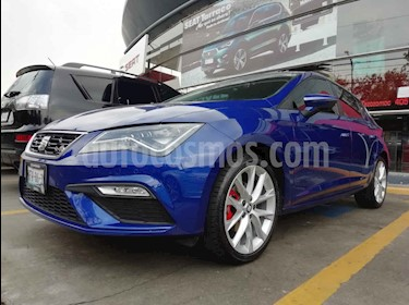 Foto SEAT Leon FR 1.4T usado (2018) color Azul precio $340,000