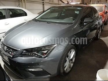 Foto venta Auto usado SEAT Leon FR 1.8T  180 HP DSG (2018) color Gris Pirineos precio $338,000
