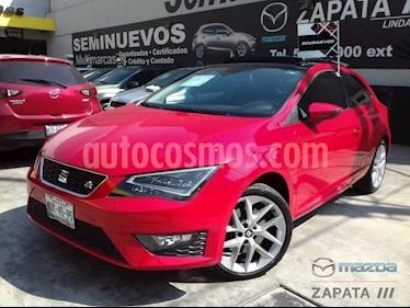 Foto venta Auto usado SEAT Leon FR 1.8T  180 HP (2015) color Rojo Emocion precio $265,000