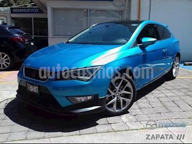 foto SEAT Leon FR 1.8T  usado (2016) color Azul precio $275,000