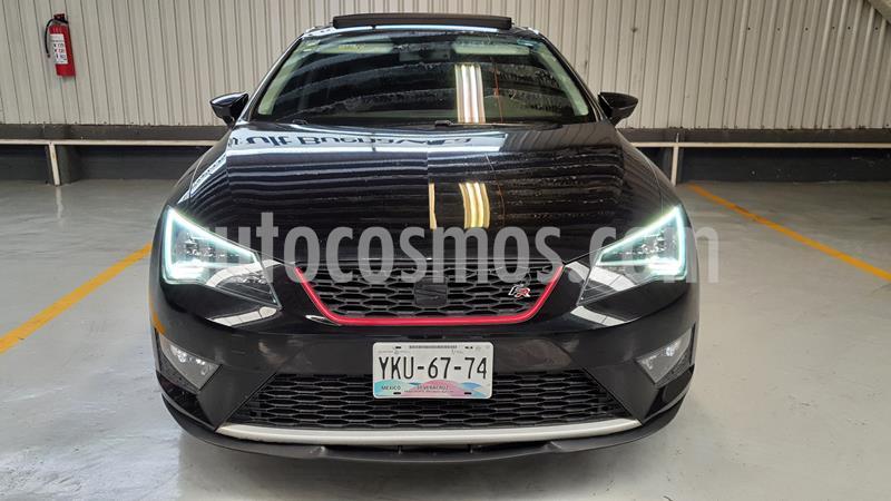 SEAT Leon FR 1.4T usado (2015) color Negro Universal precio $235,000