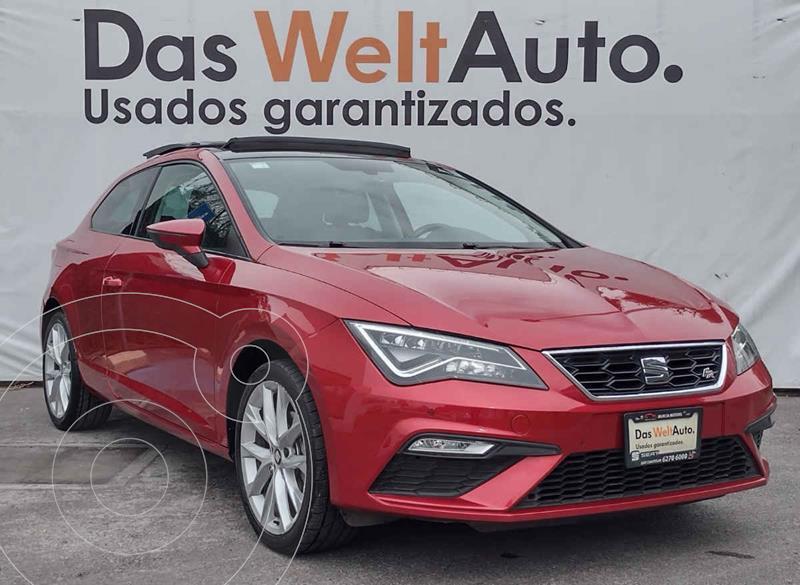 Foto SEAT Leon FR 140 HP DSG usado (2018) color Rojo precio $355,000