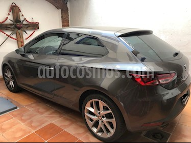 SEAT Leon FR 1.8T  180 HP DSG usado (2015) color Gris precio $260,000