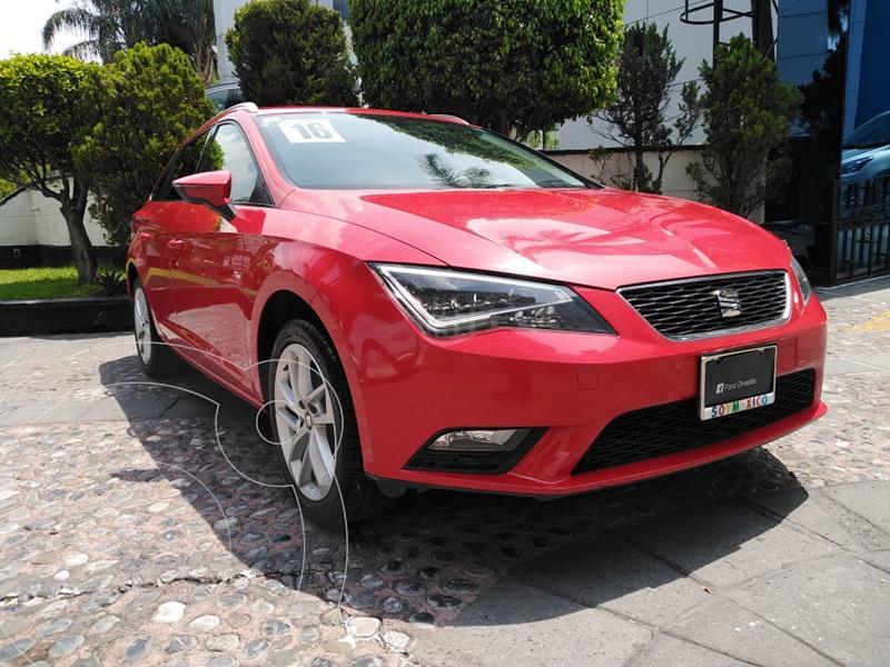 Foto SEAT Leon Xcellence 1.4T 150HP DSG usado (2016) color Rojo financiado en mensualidades(enganche $67,500)