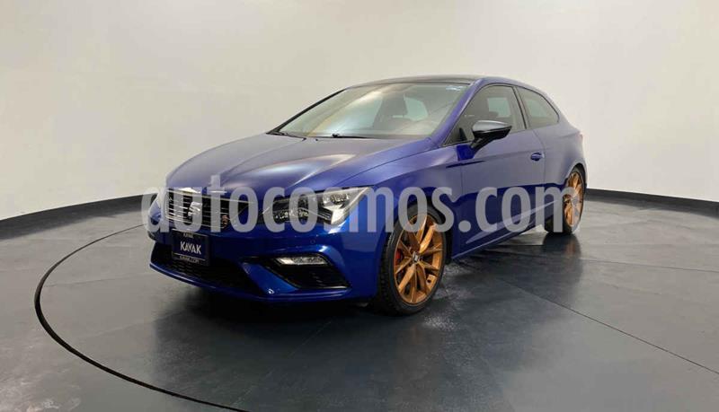 SEAT Leon Version usado (2017) color Azul precio $329,999