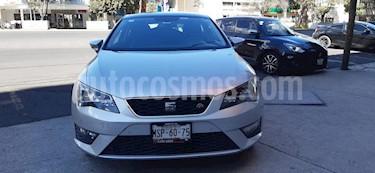 SEAT Leon FR 1.8T  180 HP DSG usado (2015) color Plata Estelar precio $225,000