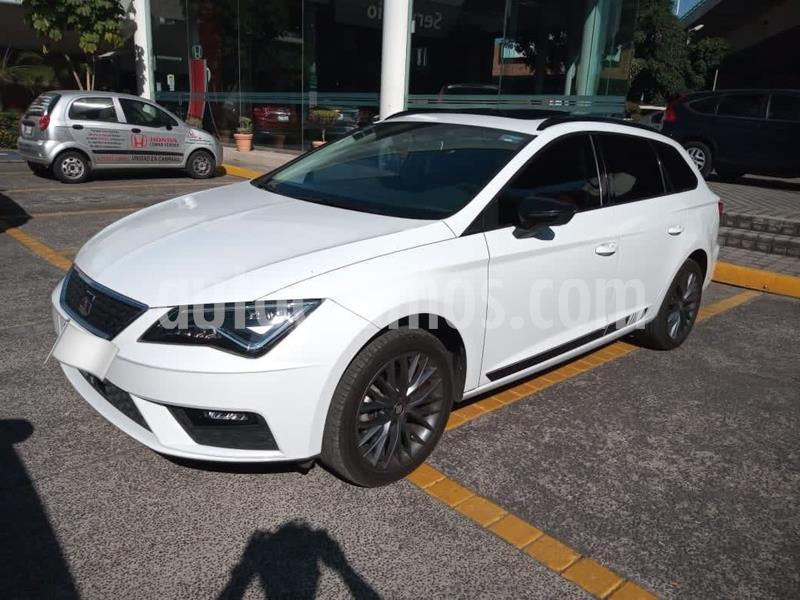 SEAT Leon 1.8T Style DSG usado (2018) color Blanco precio $295,000