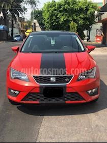 SEAT Leon FR 1.8T  usado (2016) color Rojo precio $250,000