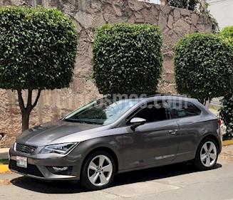 SEAT Leon FR 1.4T 150 HP DSG usado (2016) color Gris Pirineos precio $220,000