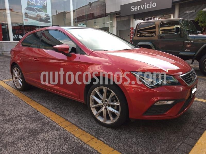 SEAT Leon FR 1.4T usado (2018) color Rojo Cobrizo precio $287,000