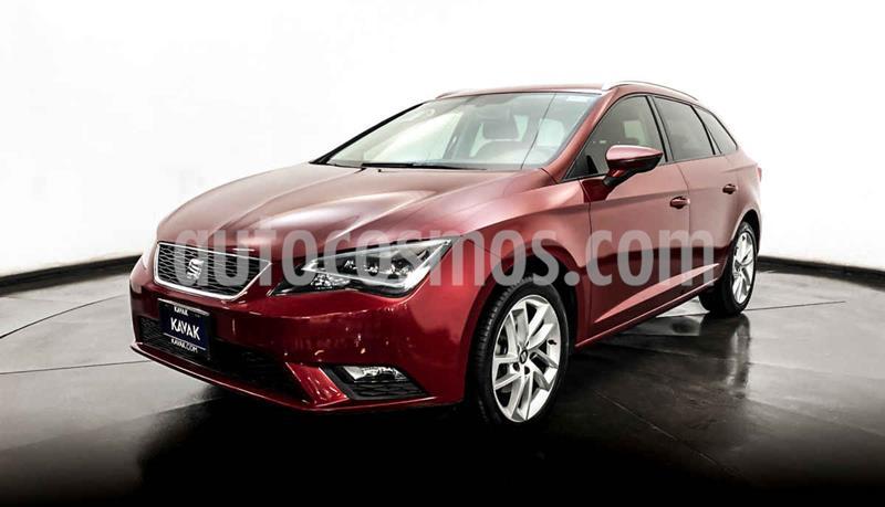SEAT Leon Version usado (2016) color Rojo precio $242,999