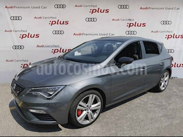 SEAT Leon 5p Cupra L4/2.0/T Aut usado (2018) color Gris precio $400,000