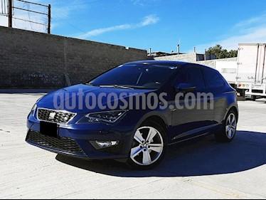 SEAT Leon FR 1.4T 150 HP DSG usado (2016) color Azul Mediterraneo precio $255,000