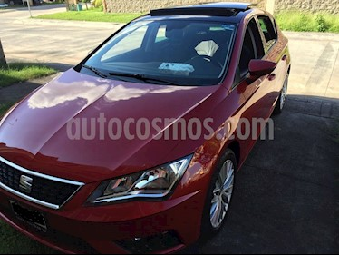 SEAT Leon Style 1.4T 150HP DSG usado (2017) color Rojo Emocion precio $256,000